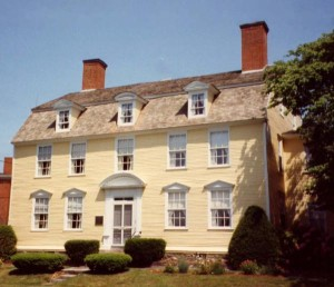 The John Paul Jones House was actually a boarding house where Jones rented a room when he was in town!